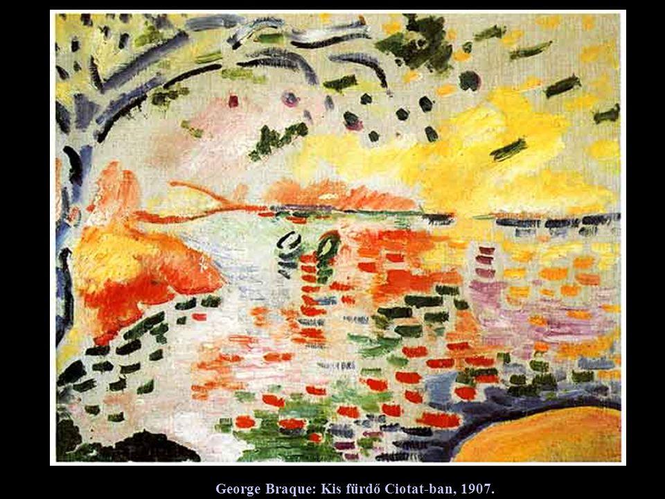 George Braque: Táj, 1907.