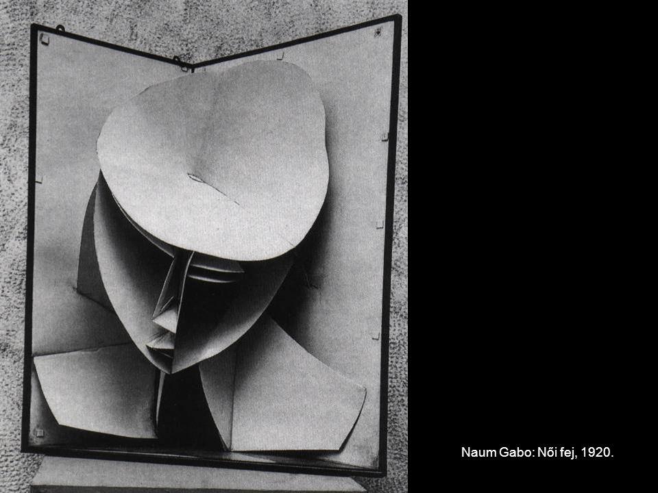 Naum Gabo: Női fej, 1920.