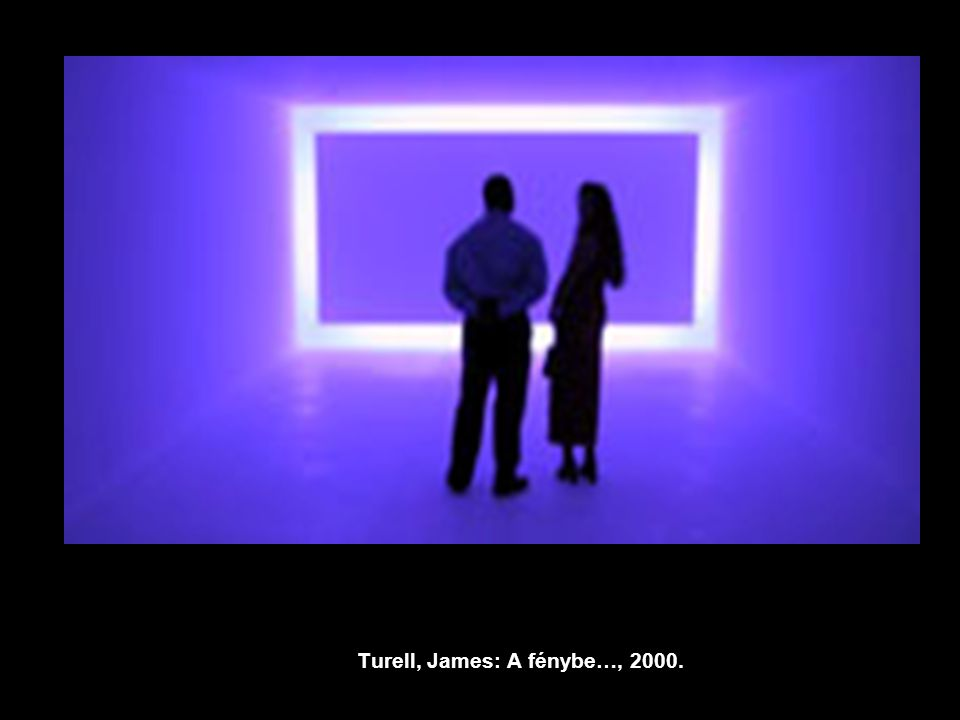 Turell, James: A fénybe…, 2000.