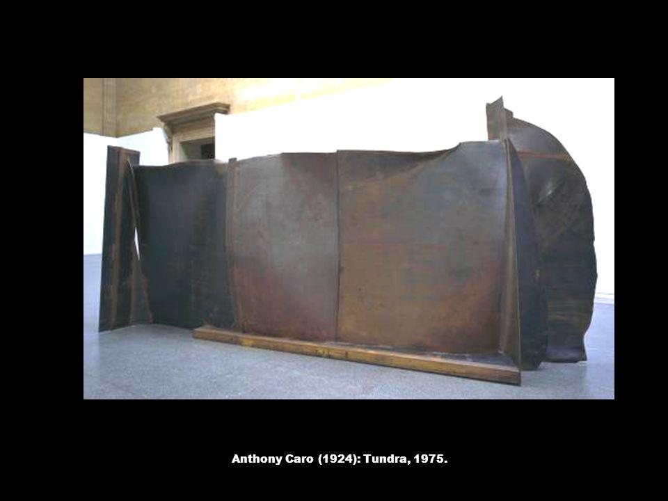 Anthony Caro (1924): Tundra, 1975.