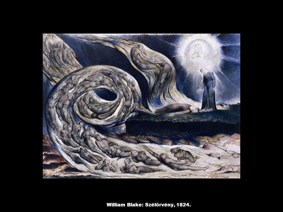 William Blake: Szélörvény, 1824.
