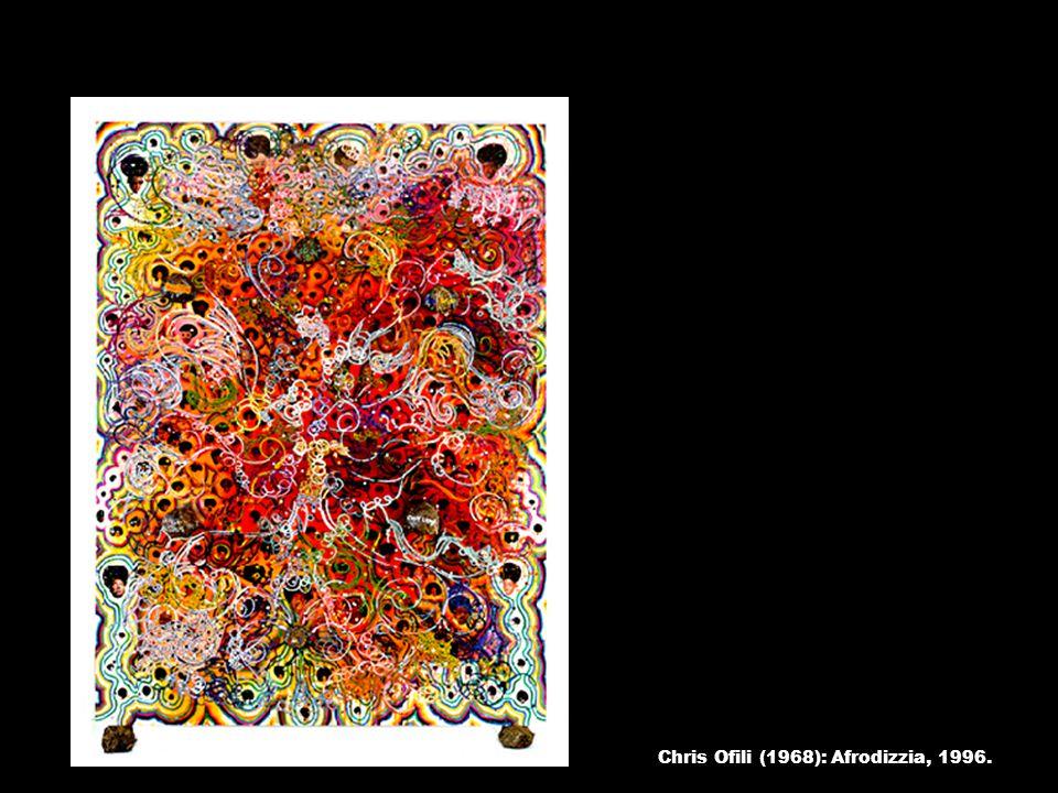 Chris Ofili (1968): Afrodizzia, 1996.