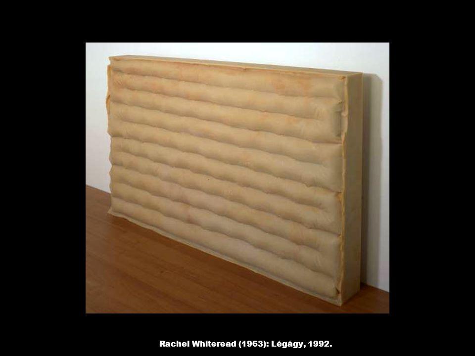 Rachel Whiteread (1963): Légágy, 1992.