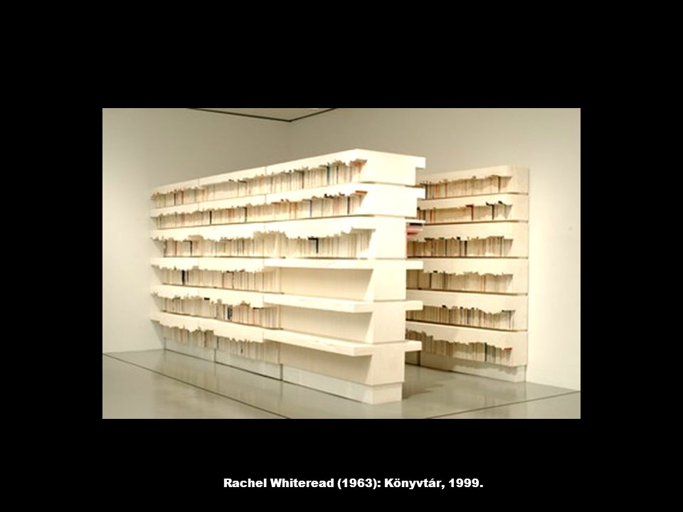 Rachel Whiteread (1963): Könyvtár, 1999.