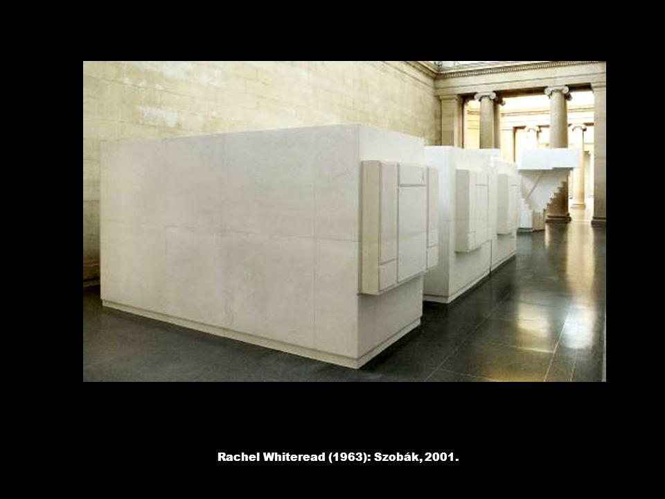 Rachel Whiteread (1963): Szobák, 2001.