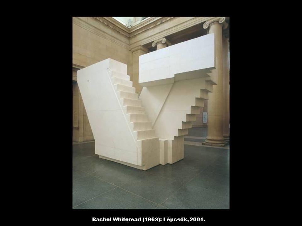 Rachel Whiteread (1963): Lépcsők, 2001.