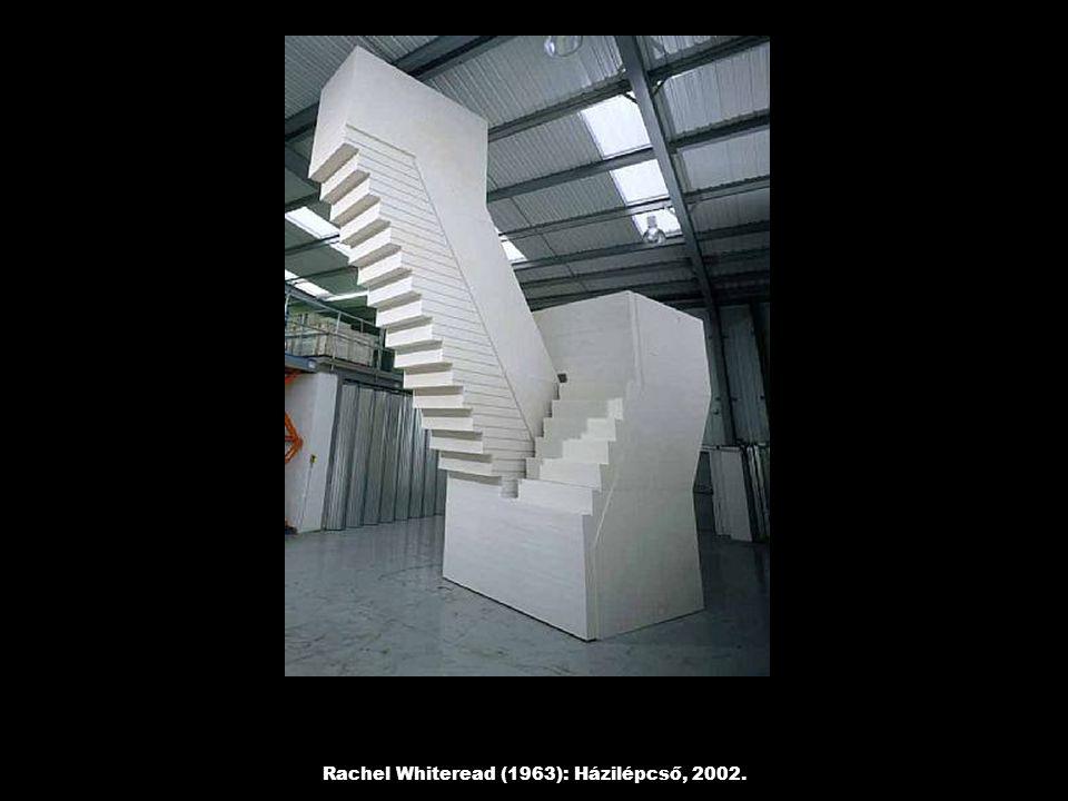Rachel Whiteread (1963): Házilépcső, 2002.