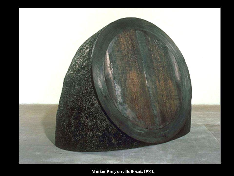Martin Puryear: Boltozat, 1984.