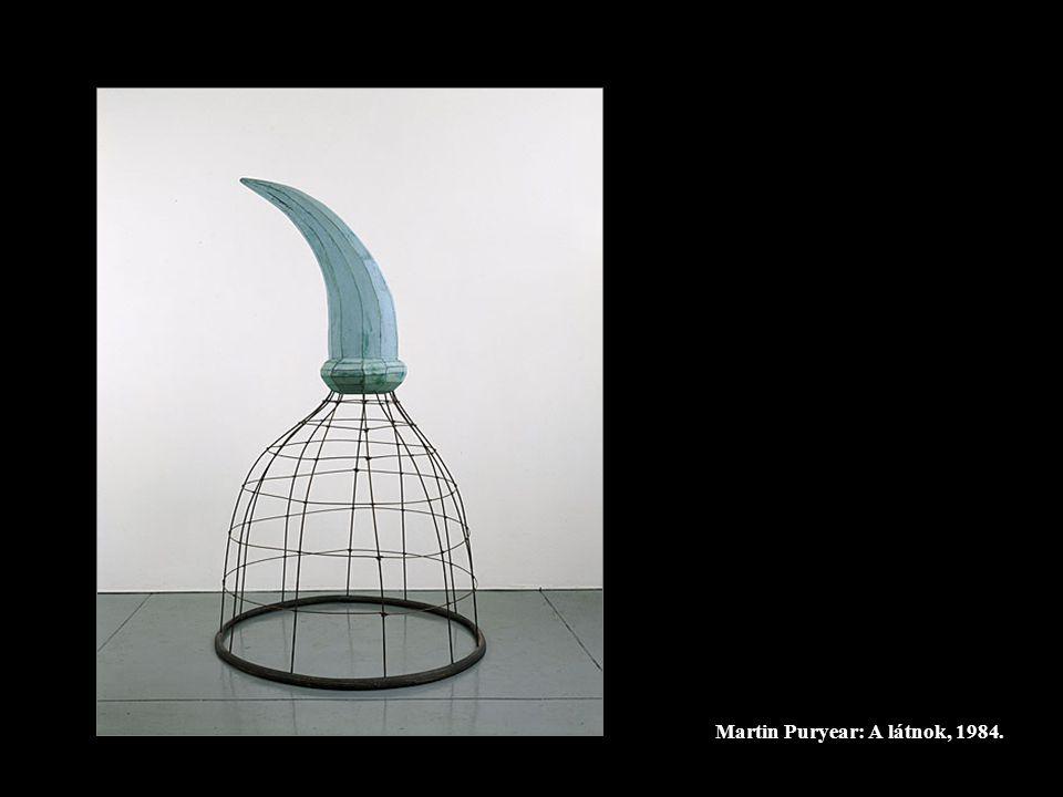 Martin Puryear: A látnok, 1984.