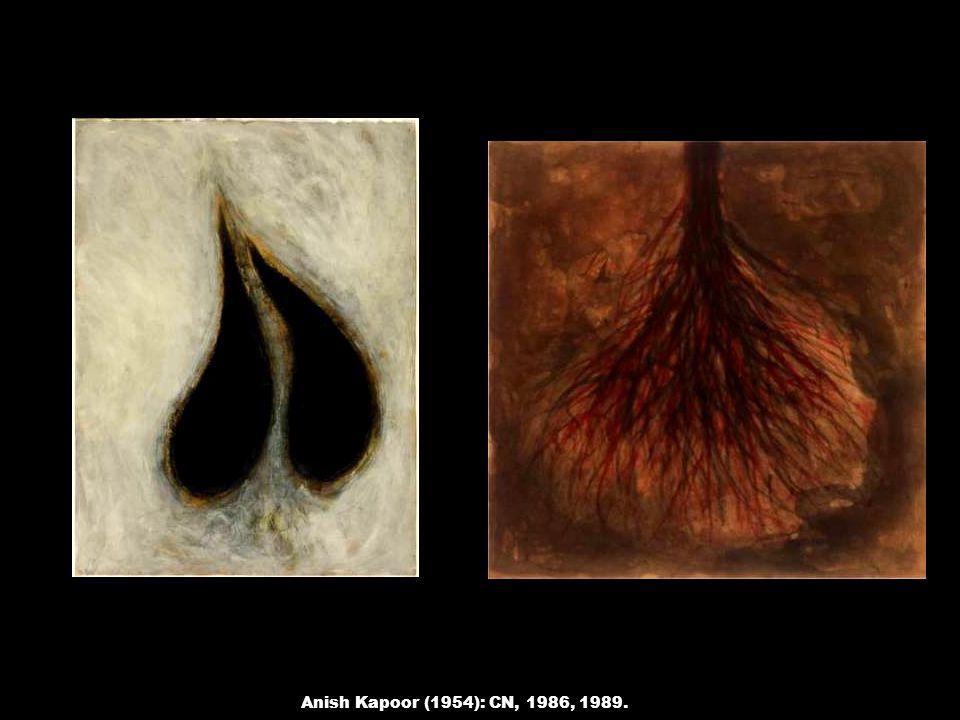 Anish Kapoor (1954): CN, 1986, 1989.