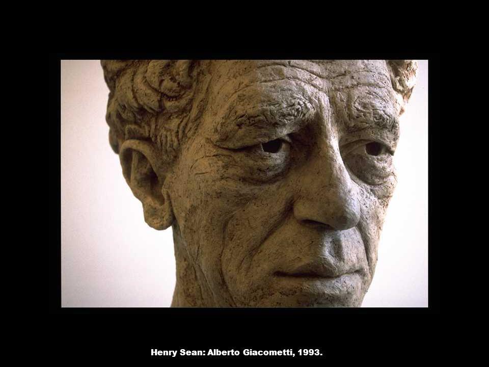 Henry Sean: Alberto Giacometti, 1993.