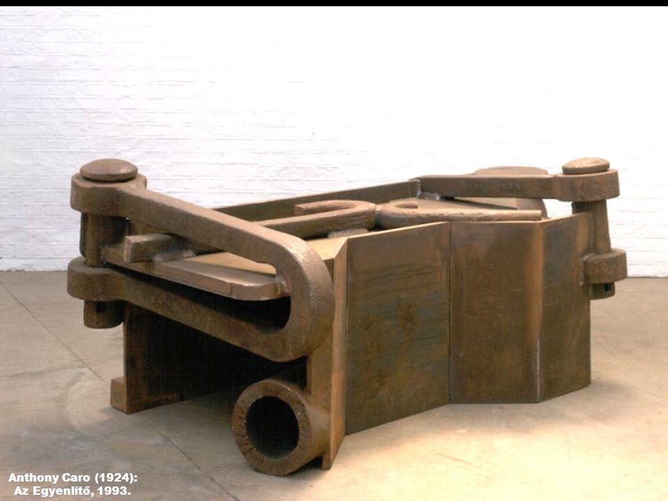Anthony Caro (1924): Az Egyenlítő, 1993.