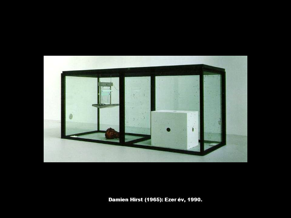Damien Hirst (1965): Ezer év, 1990.