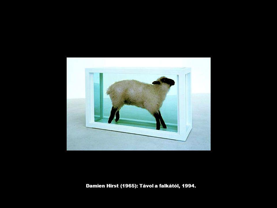 Damien Hirst (1965): Távol a falkától, 1994.