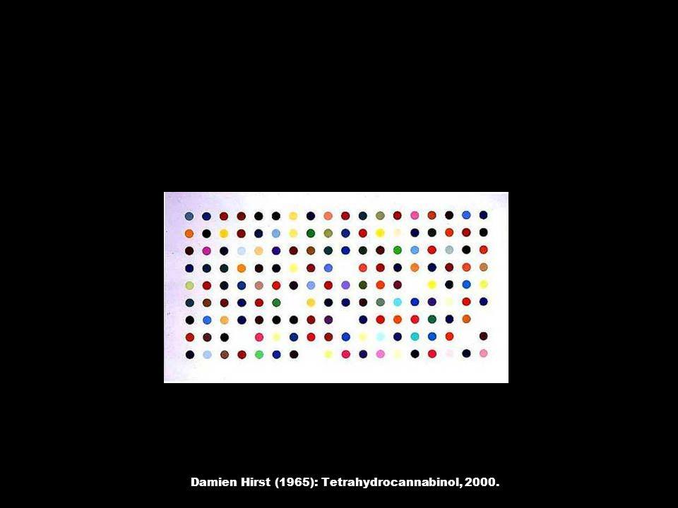 Damien Hirst (1965): Tetrahydrocannabinol, 2000.