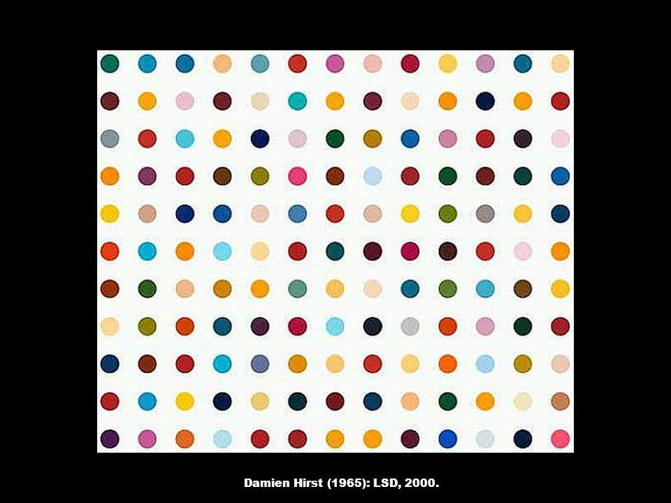 Damien Hirst (1965): LSD, 2000.