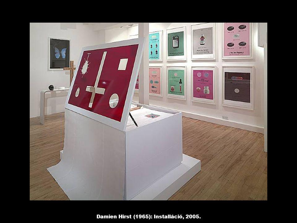 Damien Hirst (1965): Installáció, 2005.