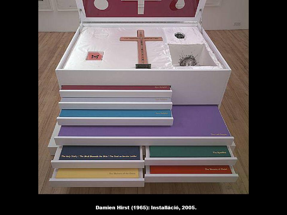 Damien Hirst (1965): Isten Szent Szíve, 2005