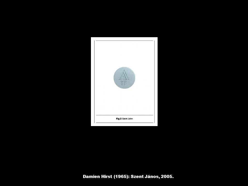 Damien Hirst (1965): Szent János, 2005.