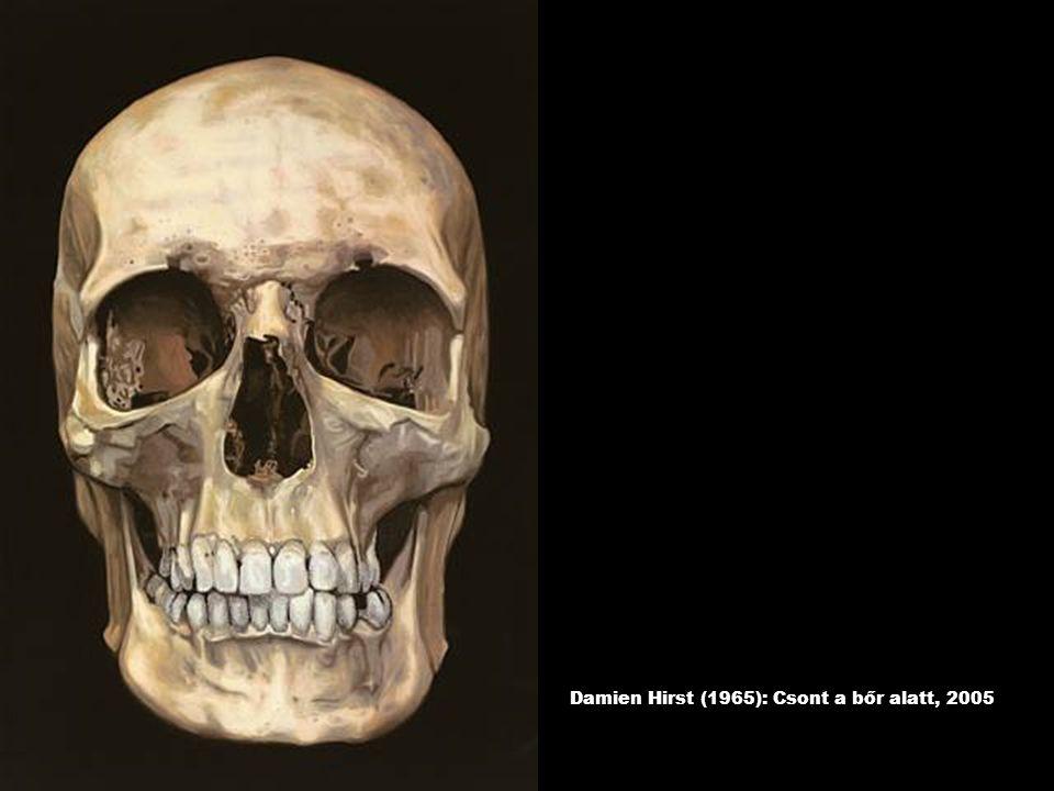 Damien Hirst (1965): Csont a bőr alatt, 2005