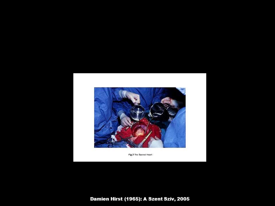 Damien Hirst (1965): A Szent Szív, 2005