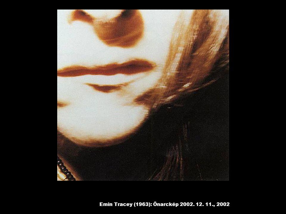 Emin Tracey (1963): Önarckép 2002. 12. 11., 2002