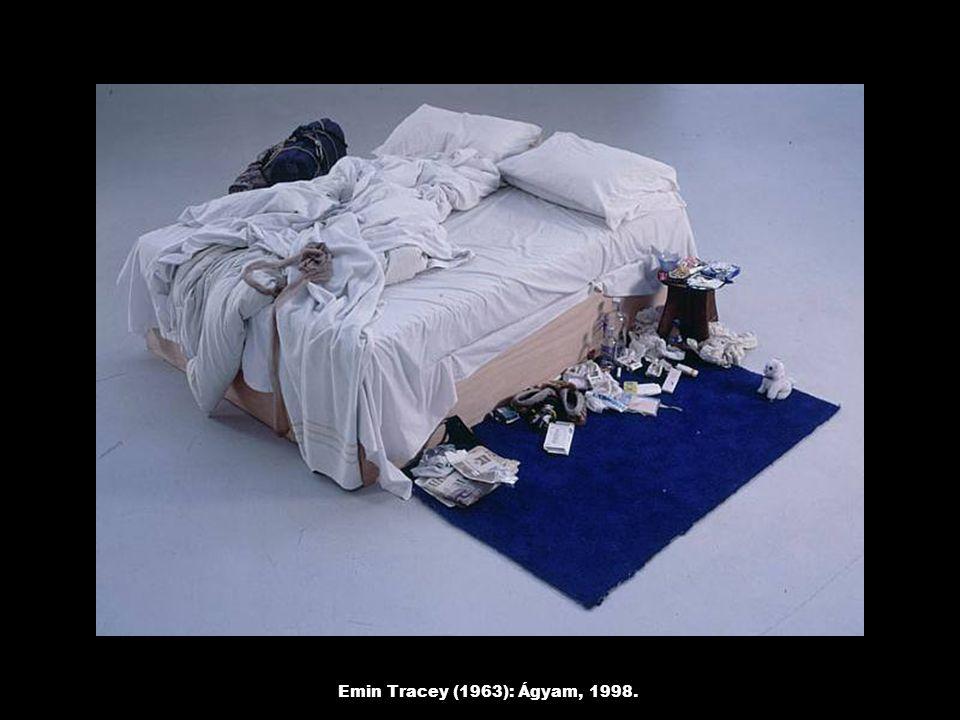 Emin Tracey (1963): Ágyam, 1998.