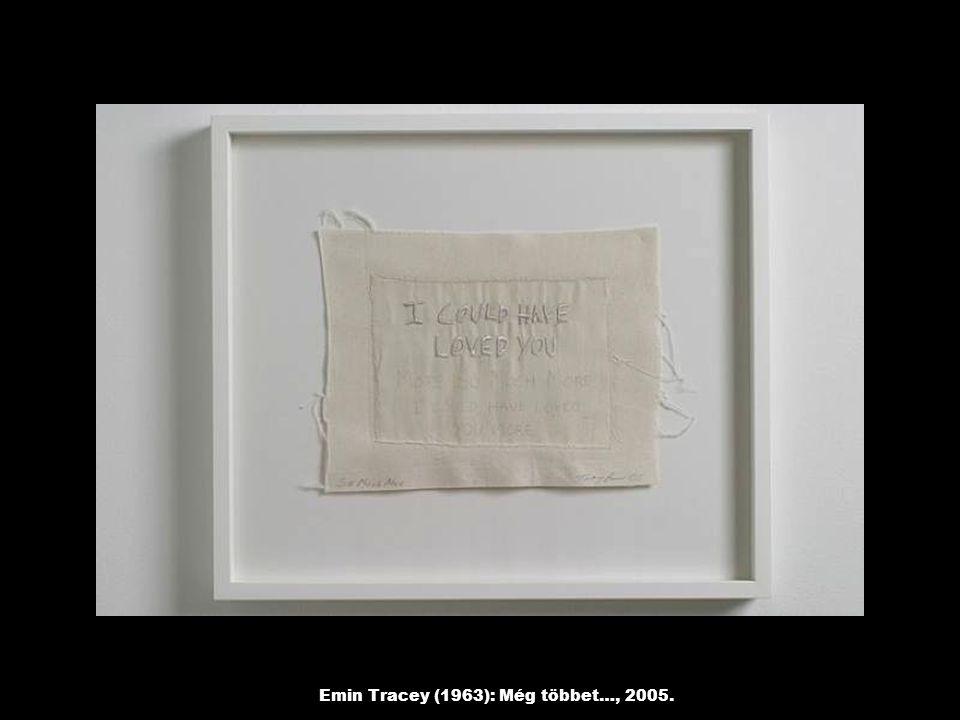 Emin Tracey (1963): Még többet…, 2005.