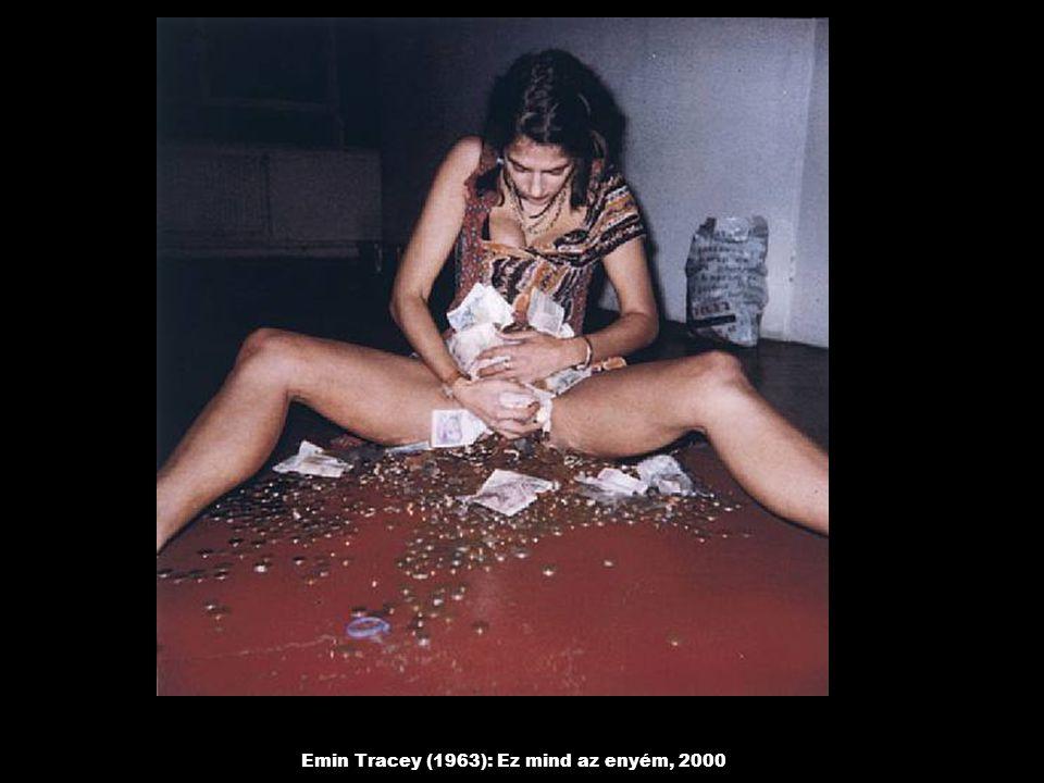 Emin Tracey (1963): Ez mind az enyém, 2000
