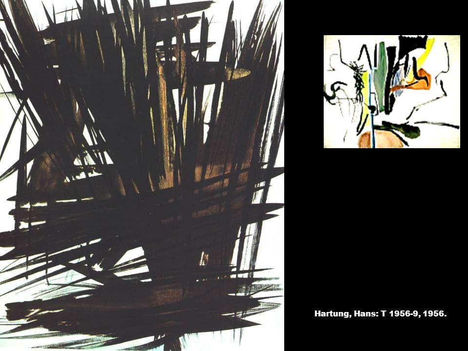 Hartung, Hans: T 1956-9, 1956. T-kompozíció, 1935