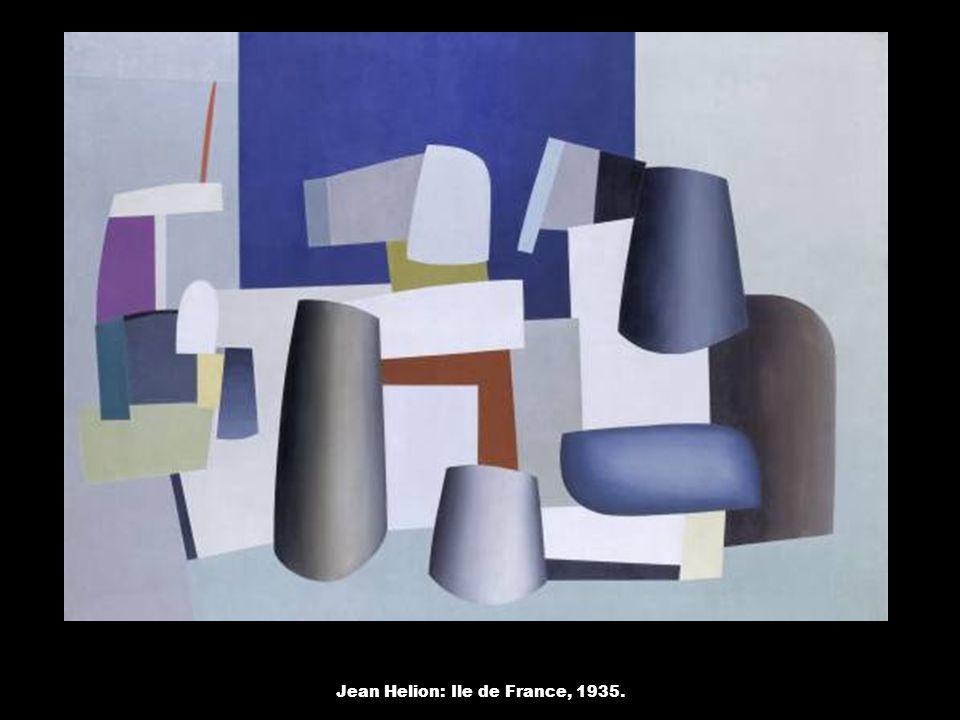 Jean Helion: Ile de France, 1935.