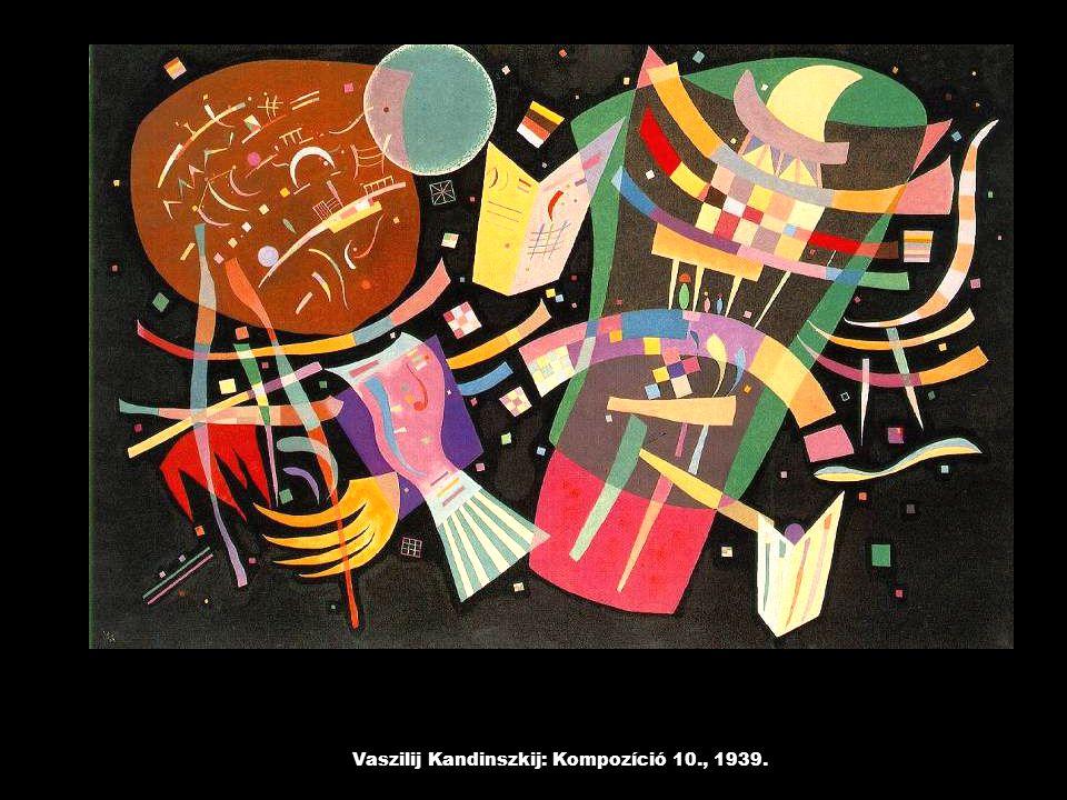 Vaszilij Kandinszkij: Kompozíció 10., 1939.