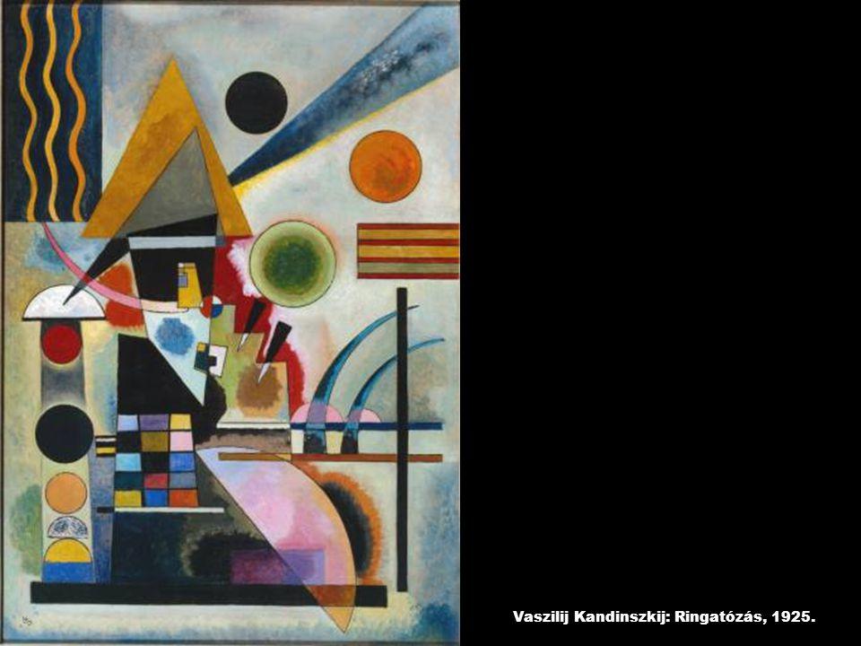 Vaszilij Kandinszkij: Ringatózás, 1925.