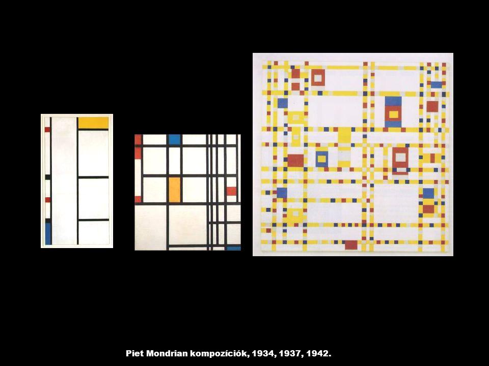 Carl André: 10 x 10 rézlemez, 1969.