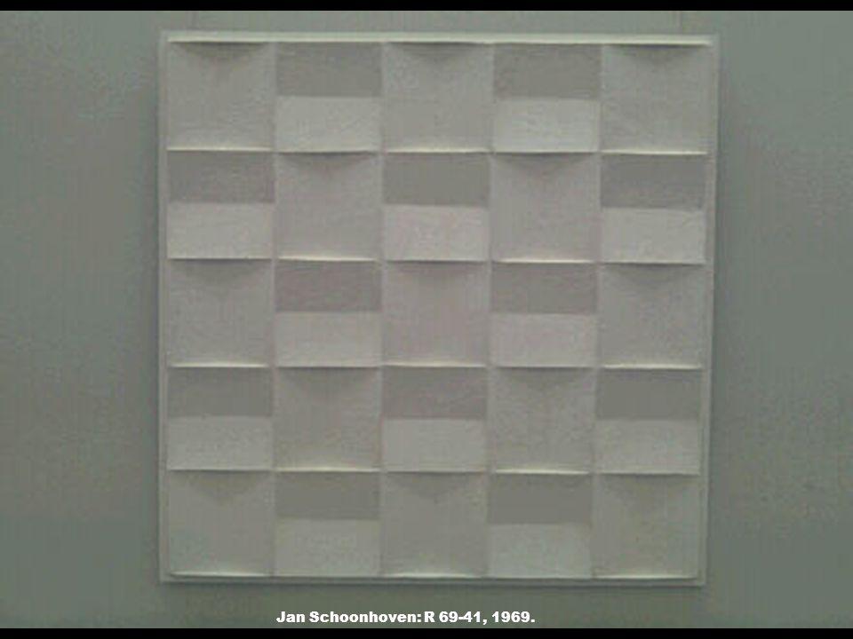 Jan Schoonhoven: R 69-41, 1969.
