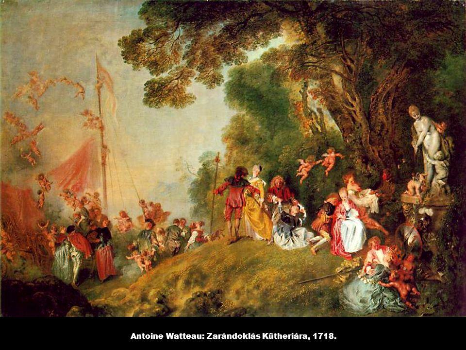 Antoine Watteau: Zarándoklás Kütheriára, 1718.