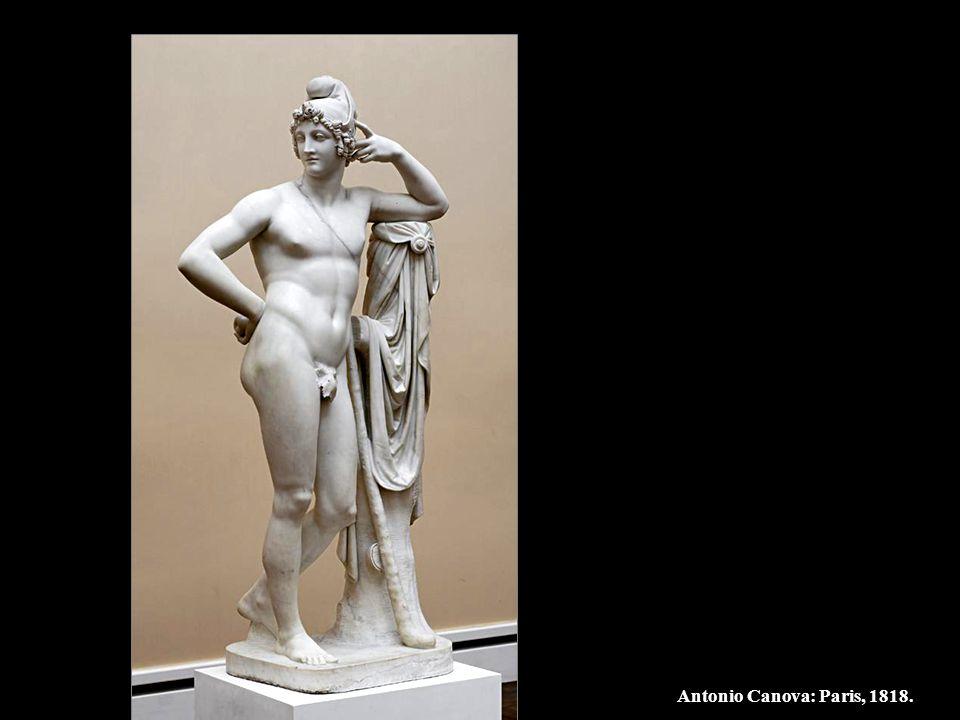 Antonio Canova: Paris, 1818.