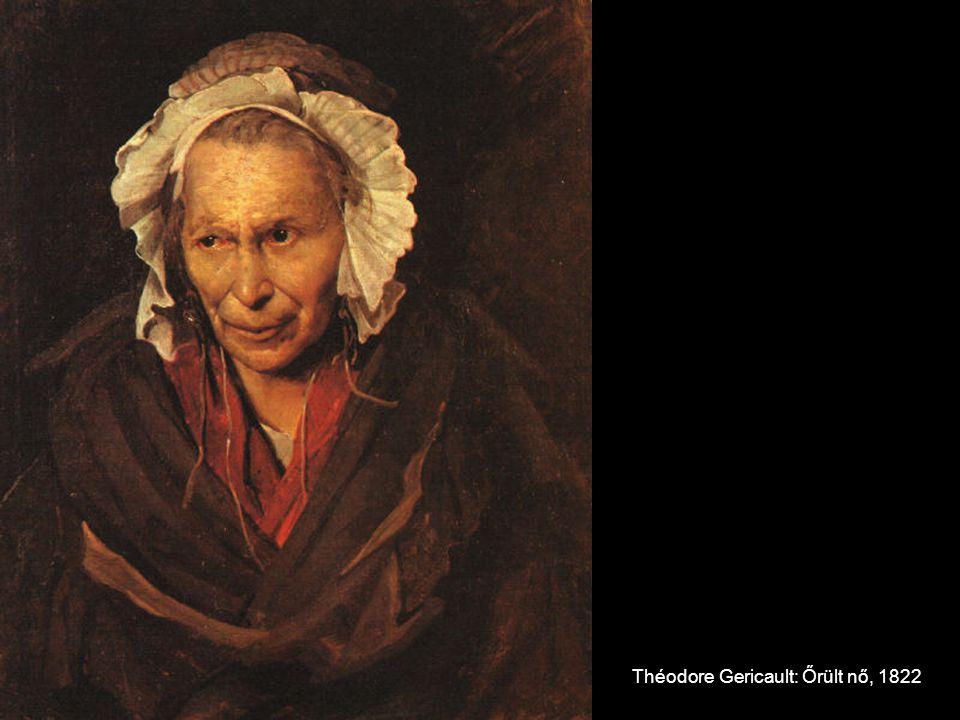 Théodore Gericault: Őrült nő, 1822