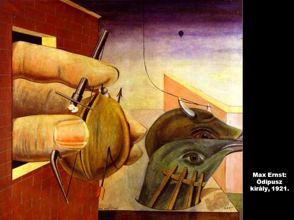 Max Ernst: Ödipusz király, 1921.