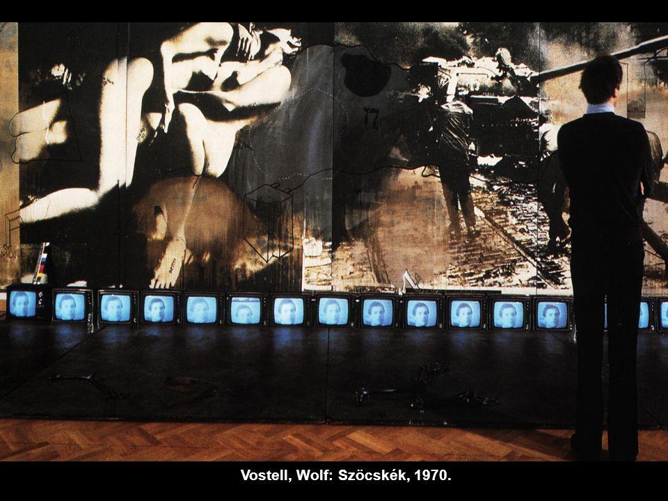 Vostell, Wolf: Szöcskék, 1970.