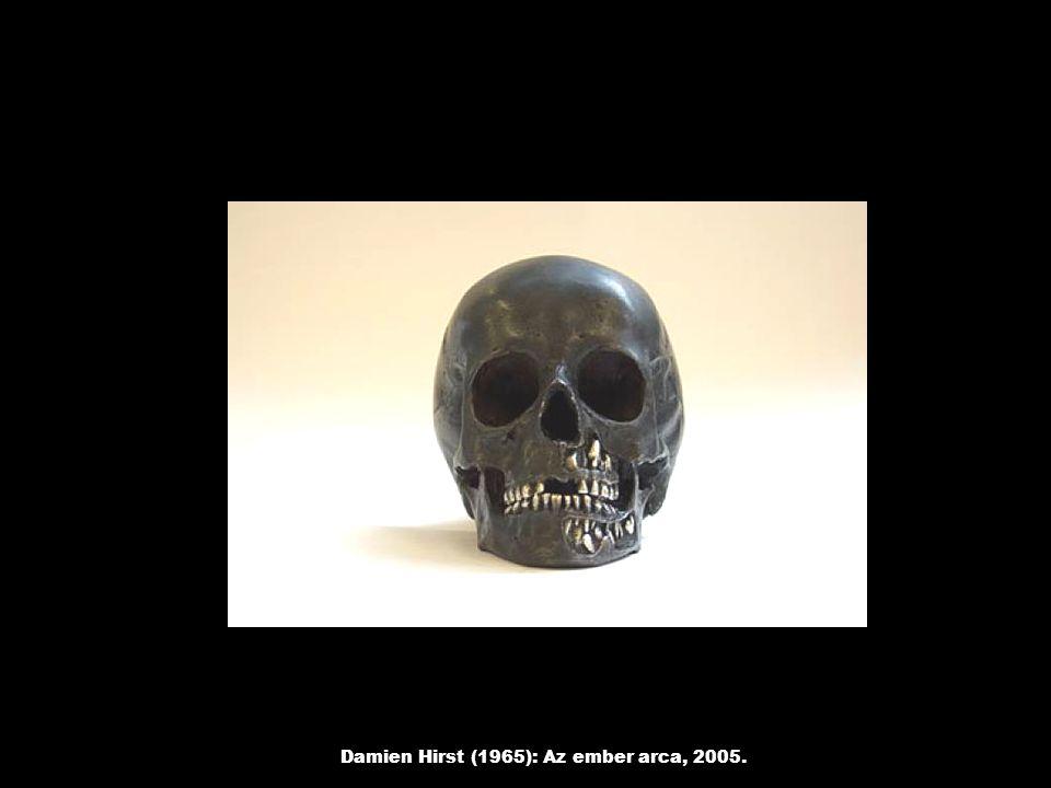 Damien Hirst (1965): Az ember arca, 2005.
