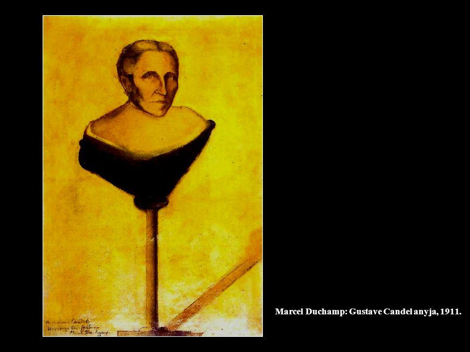 Marcel Duchamp: Gustave Candel anyja, 1911.