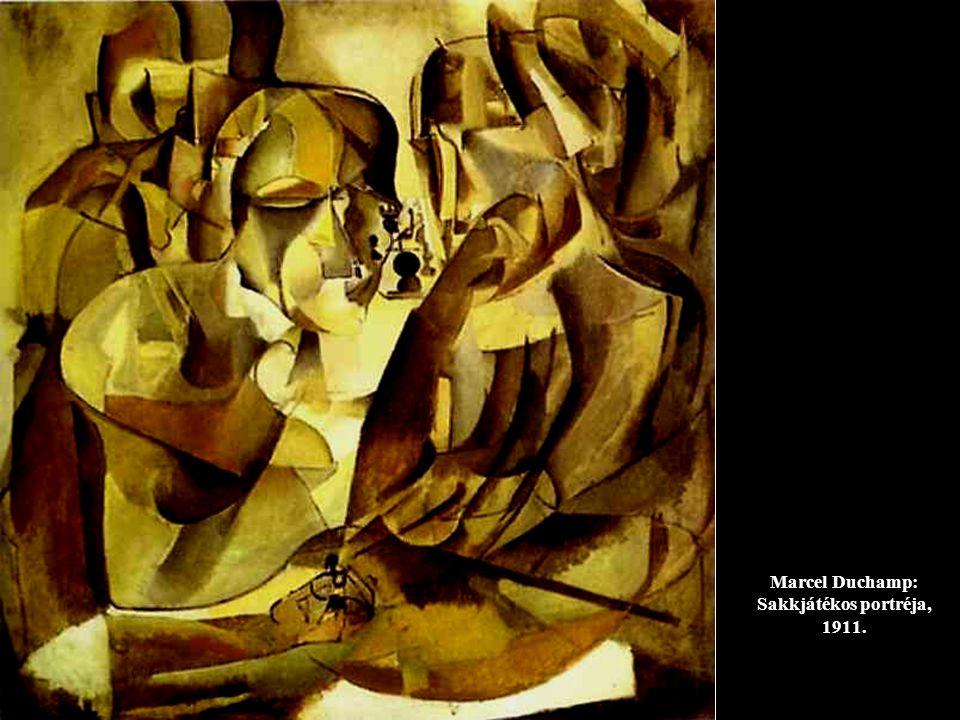 Marcel Duchamp: Sakkjátékos portréja, 1911.