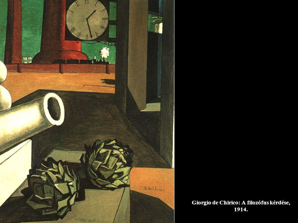 Giorgio de Chirico: Az átalakult álom, 1913.
