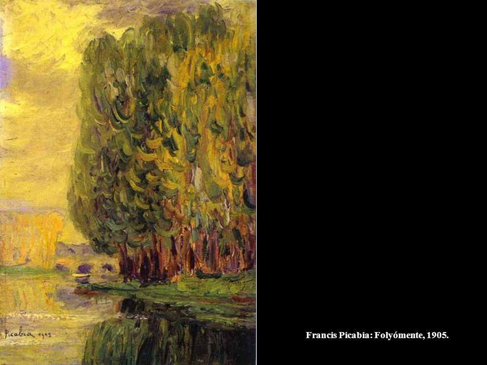 Francis Picabia: Folyómente, 1905.