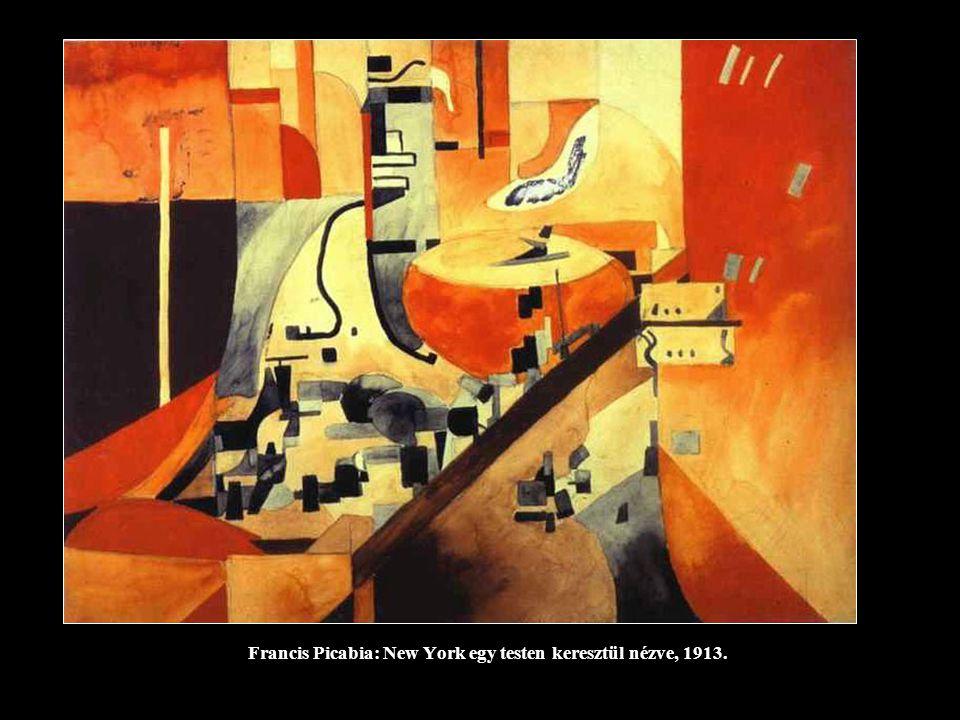 Francis Picabia: New York egy testen keresztül nézve, 1913.