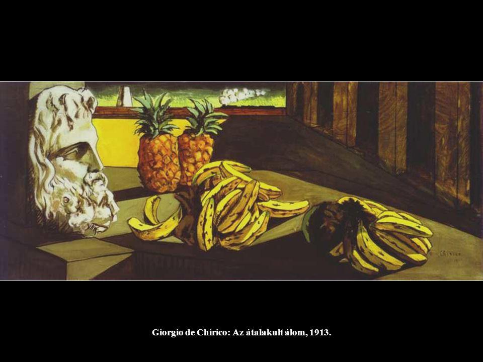 Giorgio de Chirico: Apollinaire ébredése, 1914.