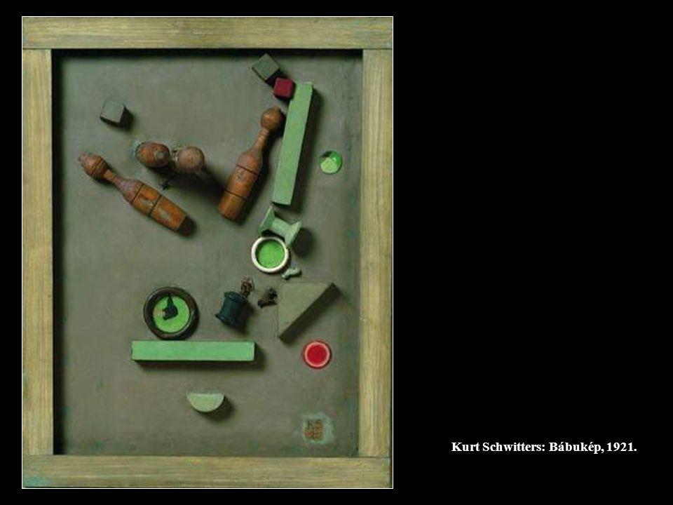 Kurt Schwitters: Bábukép, 1921.