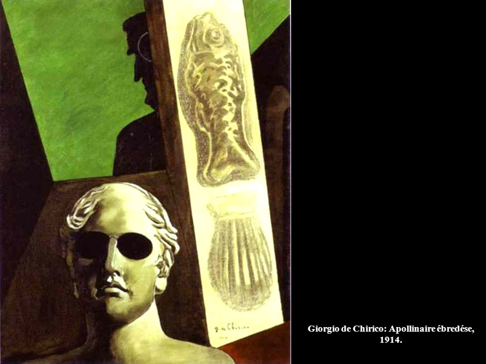 Giorgio de Chirico: Az utca misztikája és melankóliája, 1914.