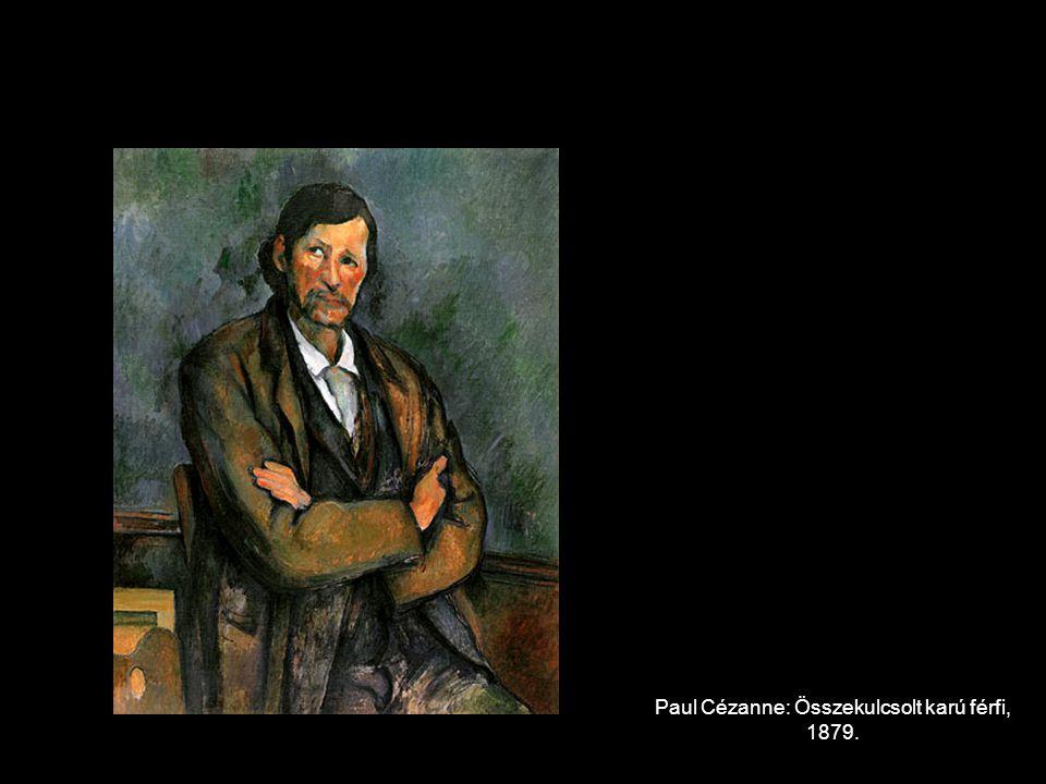 Paul Cézanne: Összekulcsolt karú férfi, 1879.